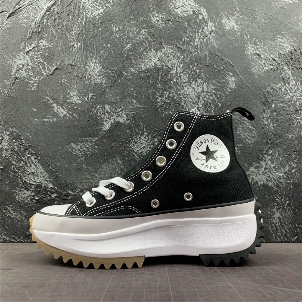 สินค้าลิขสิทธิ์แท้ Converse RUN STAR HIKE HI Increased รองเท้าลำลอง รองเท้ากีฬา