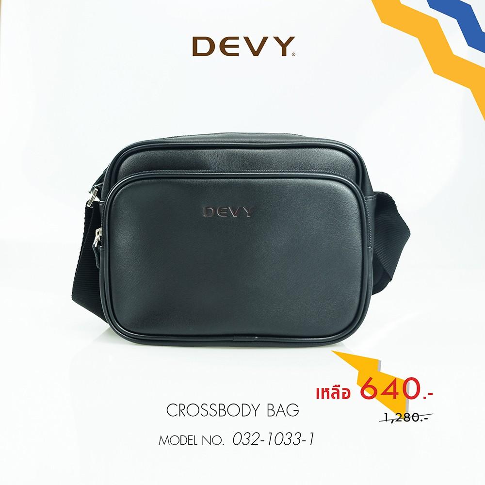 DEVY กระเป๋าสะพายข้าง รุ่น 032-1033-1