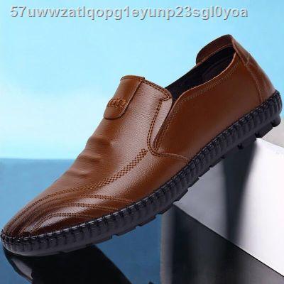 ↂรองเท้าผู้ชายรองเท้าหนังชายรองเท้าหนังชายรองเท้าคัชชู ผชcasual Shoes Men