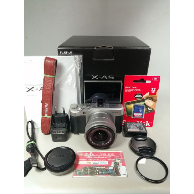 กล้อง FUJI XA5+15-45 กล้องมือสอง เลนส์มือสอง