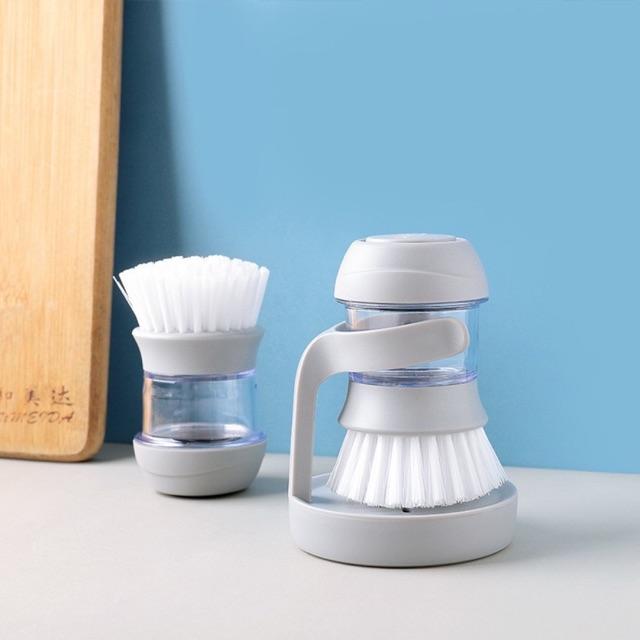 _xD83E__xDDFD__xD83E__xDDF4_หัวแปรงล้างจานทำความสะอาดพร้อมที่ใส่น้ำยาล้างจานในตัวที่ล้างจานแปรงล้างจานแปรงขัดหม้อ_xD83E__xDDFD__xD83E__xDDF4_