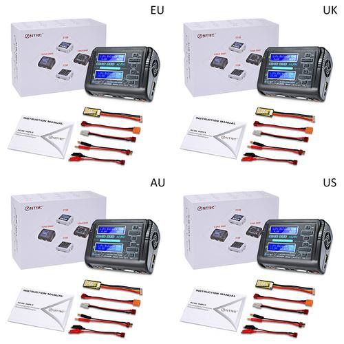 HTRC AC 150W DC 240W Dual Channel RC Car Balance lipo battery Charger discharger