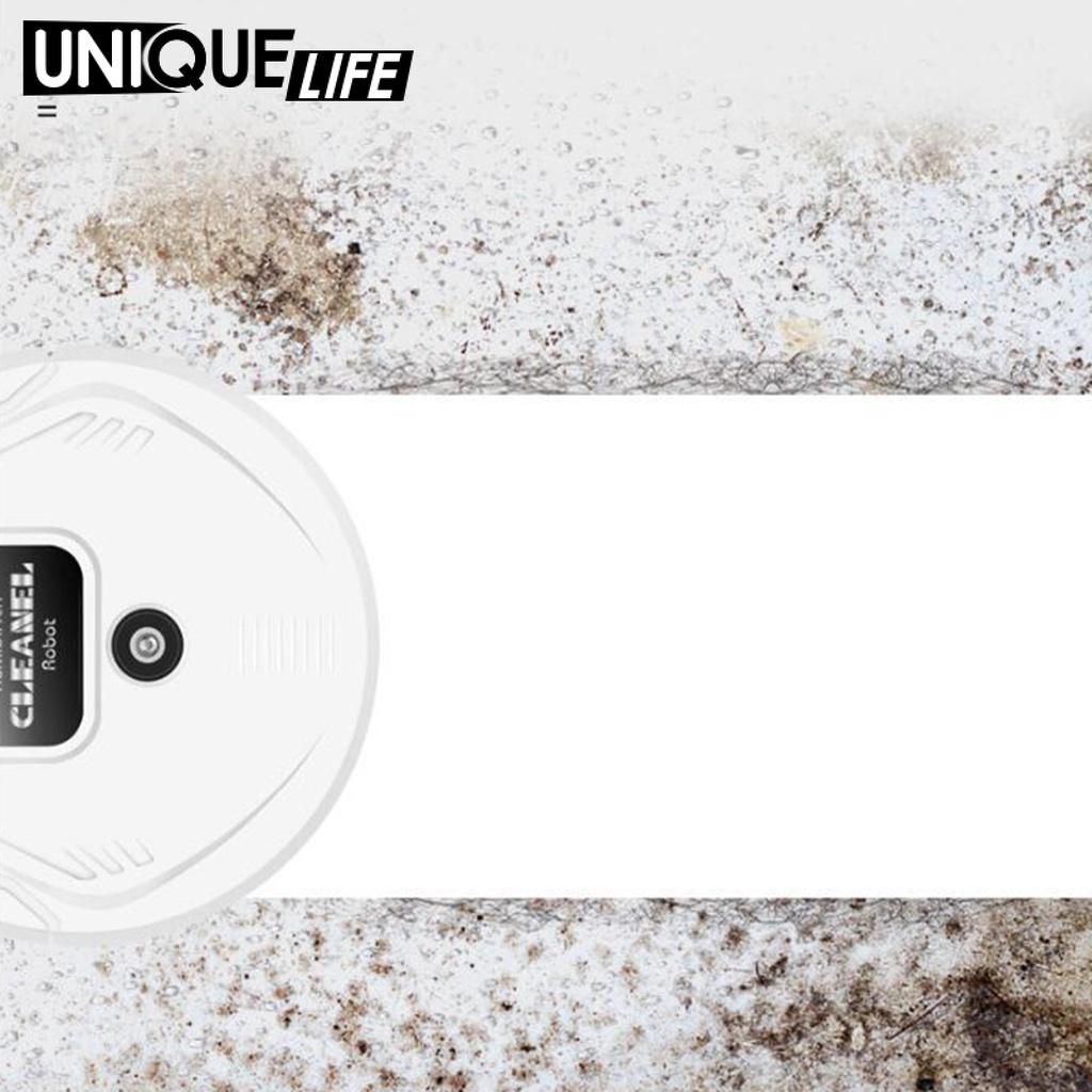 หุ่นยนต์ดูดฝุ่น ♧( Unique Life ) หุ่นยนต์ดูดฝุ่นพร้อมเครื่องดูดฝุ่นทําความส