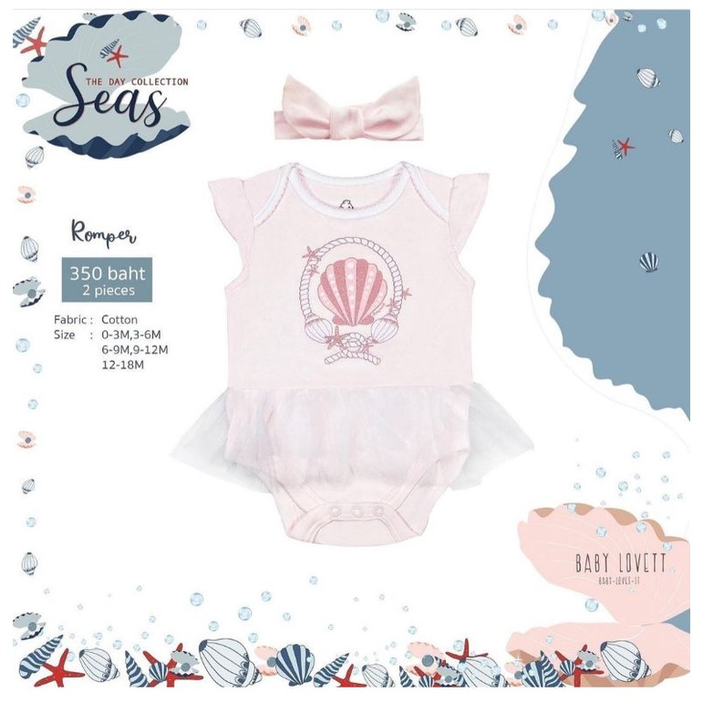 Baby Lovett the day collection Seas