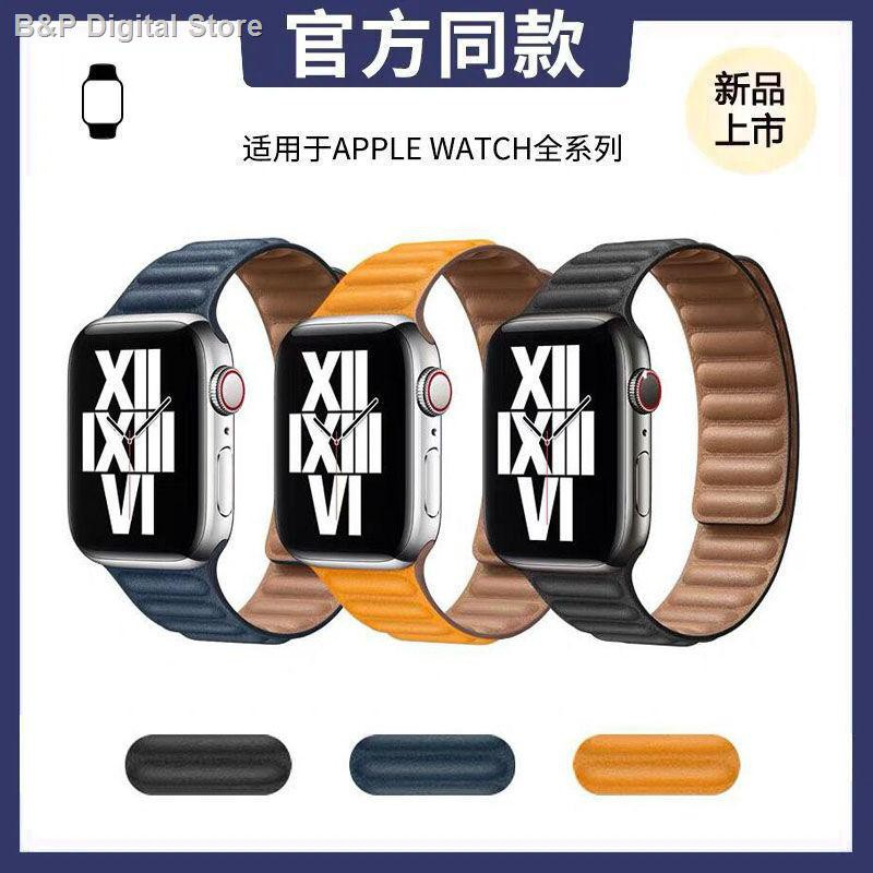 【อุปกรณ์เสริมของ applewatch】∈✗☈สาย Applewatch ที่ใช้งานได้สายนาฬิกา iwatch S6 / 5/4/3 generation SE สายหนังสาย Apple