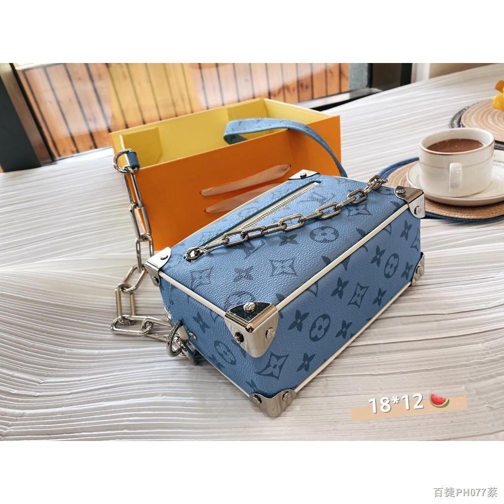 เวลาจำกัด♤﹉۩【Quick Shipping】lv กระเป๋ากระเป๋าเดินทางใบเล็กรุ่นใหม่ล่าสุดปี 2021 กระเป๋าสะพายข้างสำหรับผู้หญิง