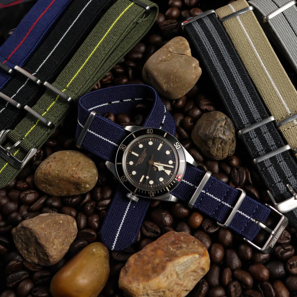 สาย applewatch แท้ สาย applewatch สายนาฬิกา สายนาโต้ รุ่น Parachute Nato Strap