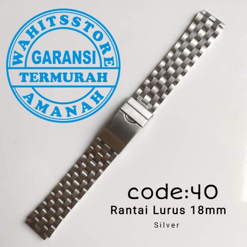 สายนาฬิกาข้อมือสแตนเลส Casio Rante ขนาด 18 มม.