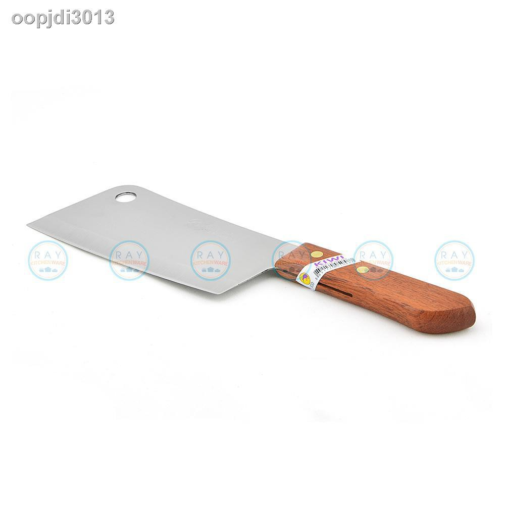มีดทำครัว✚☬✙กีวีมีดสอนสอนไม้ 6 นิ้วตราจระเข้มีดกจระเข้ 830 มีดอีเป็ดมีดปังตอ
