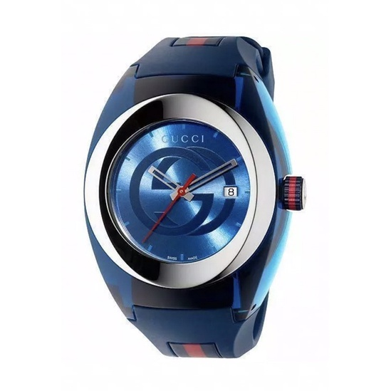 🔥 New Gucci Sync XXL Watch BLUE