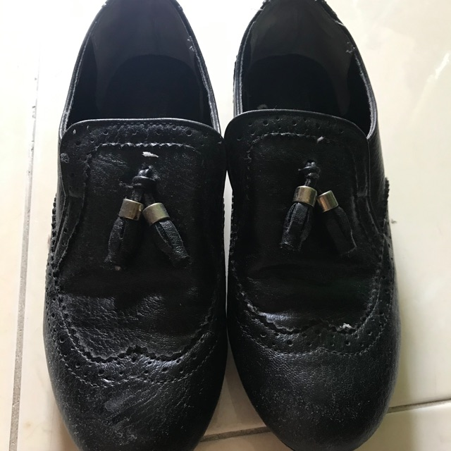 รองเท้าหนัง คัชชูสีดำ