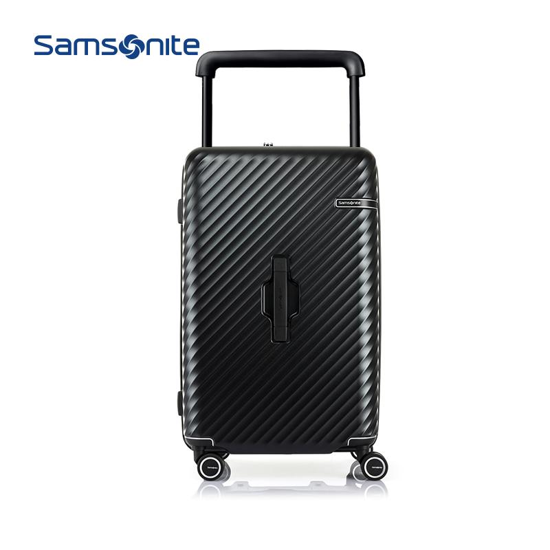 ⅖ぎSamsonite/New Beauty luggage Wide trolley Case Trunk BOXกระเป๋าเดินทางแบบถือ26/28นิ้วhj1