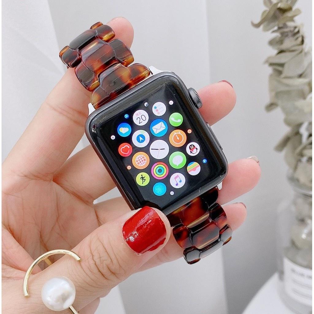 สาย applewatch สายนาฬิกา applewatch สายนาฬิกา Apple Watch Resin Straps เรซิน สาย Applewatch Series 6 5 4 3 Apple Watch S