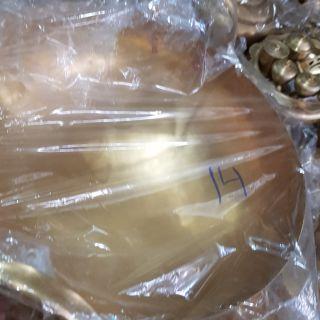 กระทะทองเหลืองทำขนมเบอร์14
