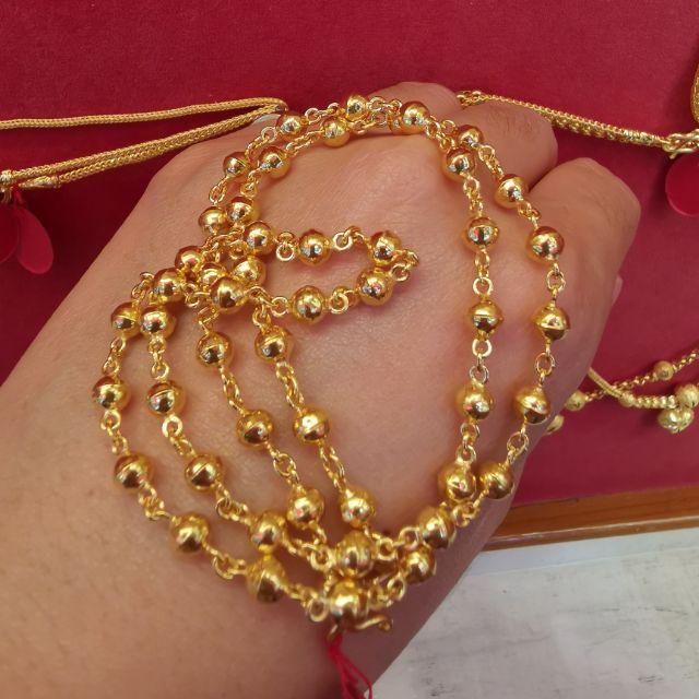 สร้อยคอทองแท้ 96.5%  หนัก 1บาท ยาว 21.5-27cm ราคา 28,650บาท