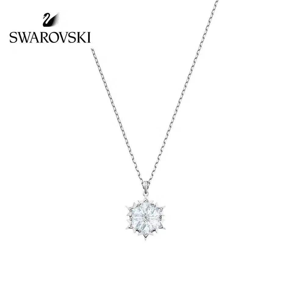 Swarovski MAGIC PENDANT สวารอฟสกี้ ของแท้ 100% สร้อยคอจี้หงส์ สร้อยคอ ของขวัญสำหรับคนพิเศษ 5428431