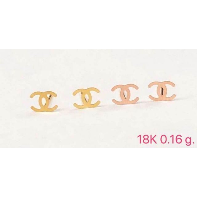 ต่างหูทองคำแท้ 18K เอาใจสาวกแบรนด์ดัง สวยน่ารัก ในราคาไม่แพง