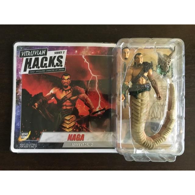 Vitruvian Hacks Action Figure, 1:18, Naga