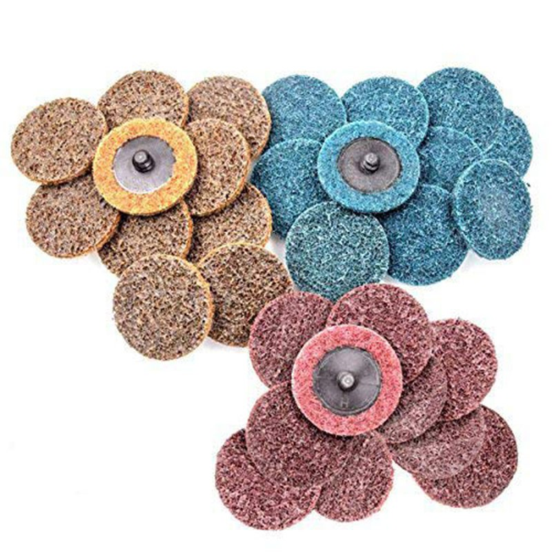 50mm 2in Wet and Dry Sanding Discs Sandpaper Plain Pads ////// 40-3000 GRIT
