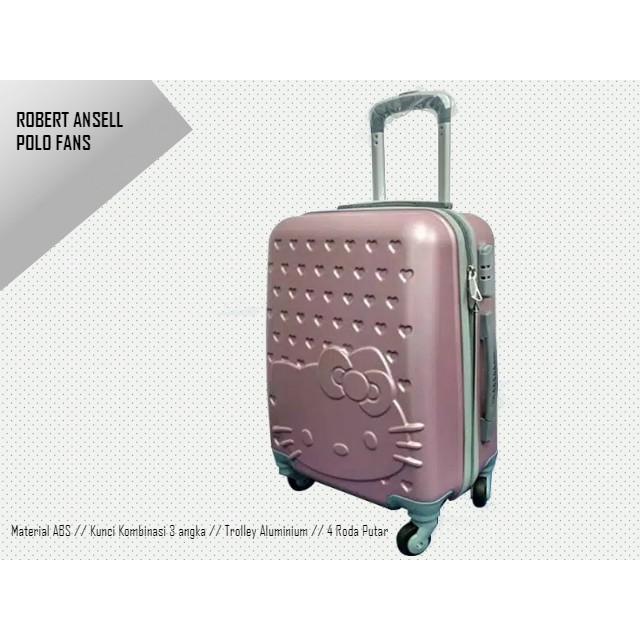 กระเป๋าเดินทางลาย Hello Kitty Abs 3 หลักขนาด 24 นิ้ว