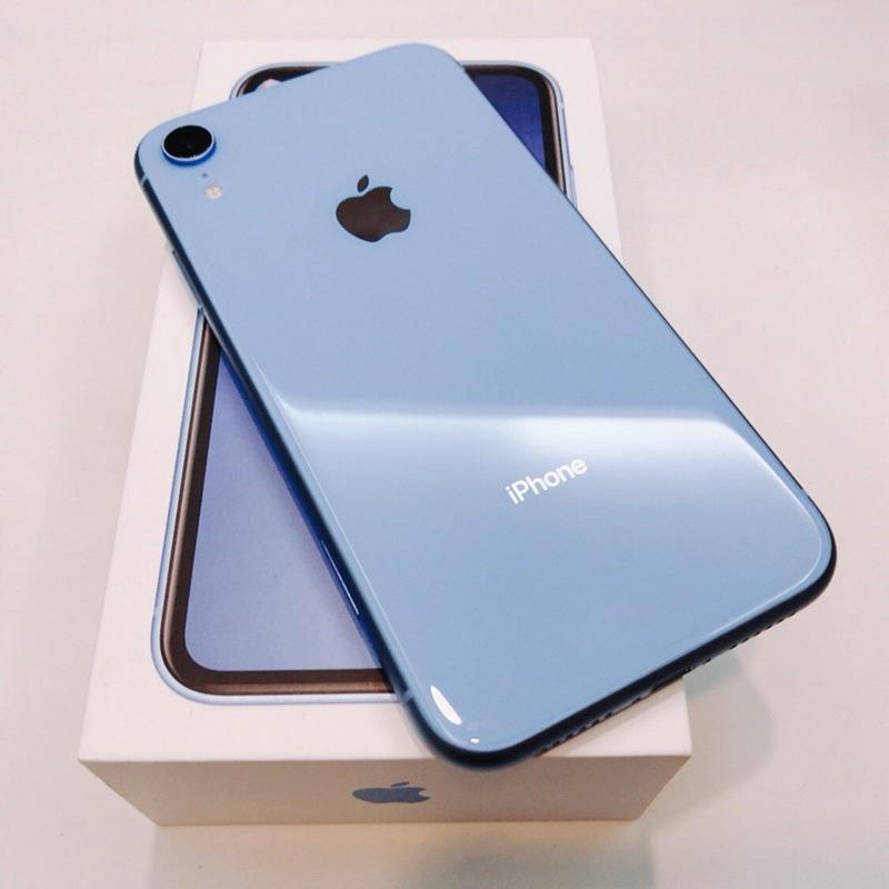 Apple iPhone XR  สีน้ำเงิน  อุปกรณ์ครบชุด   มือสอง/ มือ2