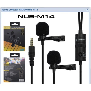 Review NUBWO M-14 Lavalier Microphone