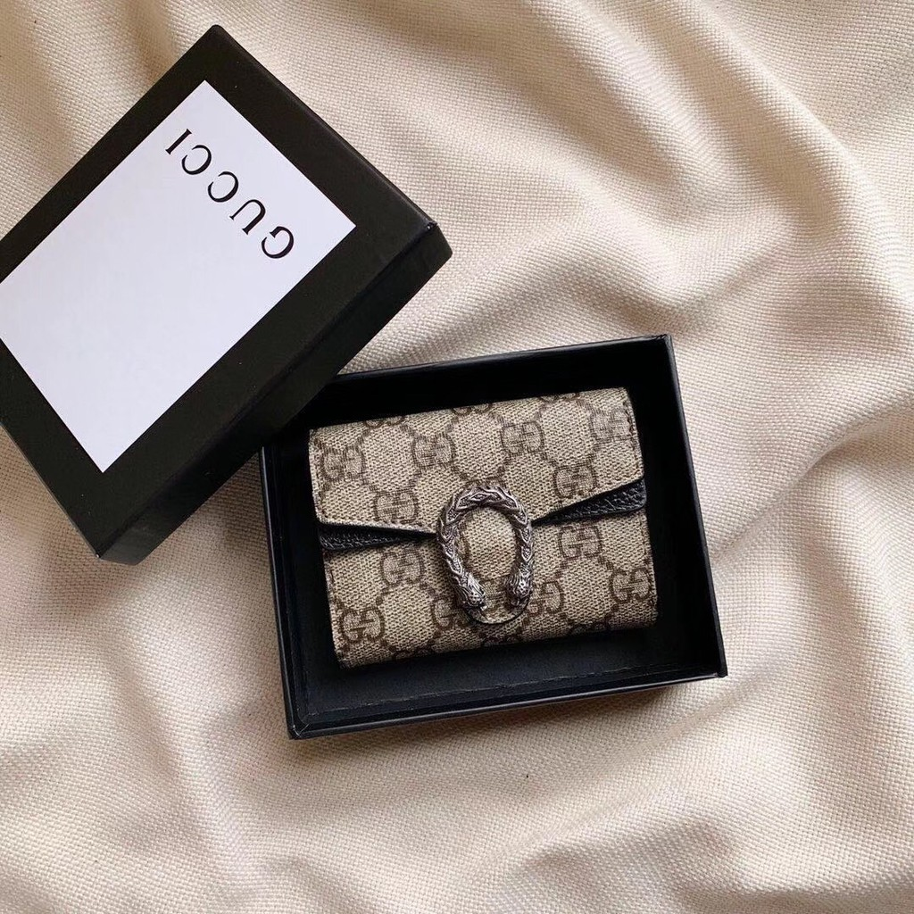 [WS]【 Ono Shopping 】ภาพจริง Gucci Dionysus Dionysus Dionysus Coin Purse Multi-card Coin Purse Girls Wal