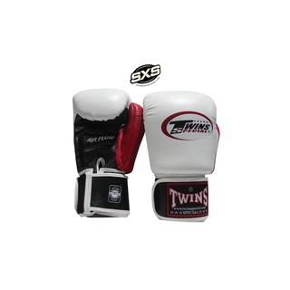 Twins Special Boxing Gloves BGVLA2 3T White Red Black