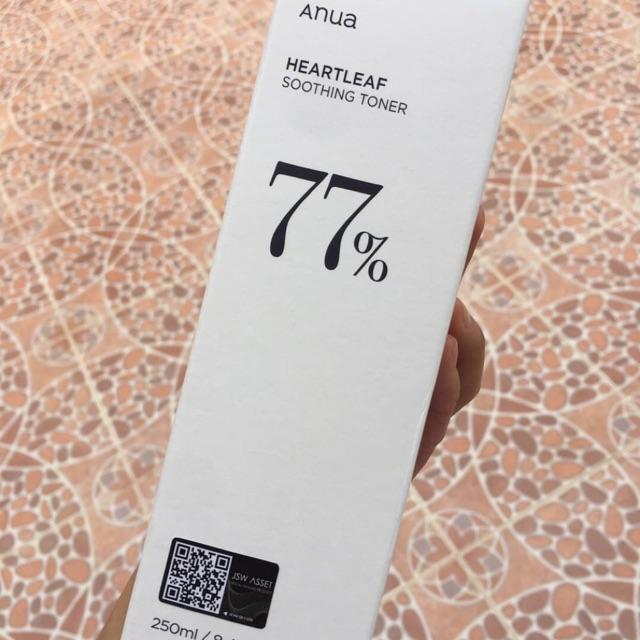 ANUA Heartleaf 77% Soothing Toner ขนาด 250ML