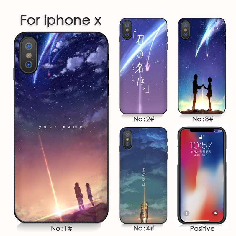 Kiminonawa Your Name Japan Anime For Iphone 7 X Xs Xr