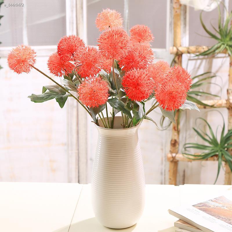 การจำลองพันธุ์ไม้อวบน้ำ▥♦✺ช่อหัวหอมสีเขียวจำลอง 1 ลูก, ดอกไม้ปลอม, ดอกไม้ผ้าไหม, ชุดดอกไม้แห้ง, ของตกแต่งห้องนั่งเล่น, ร