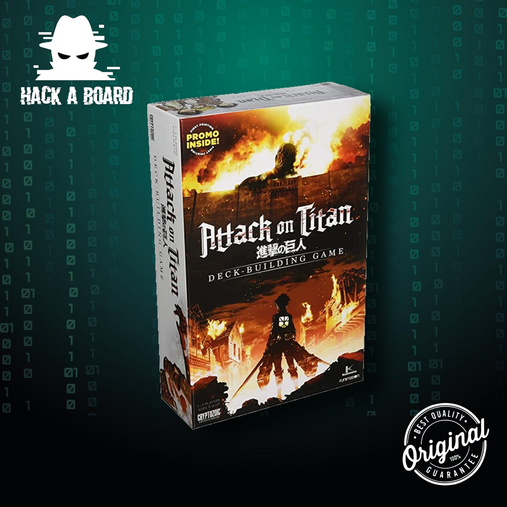 Attack on Titan: Deck-Building Game [Board Game] [ของแท้ 100%]