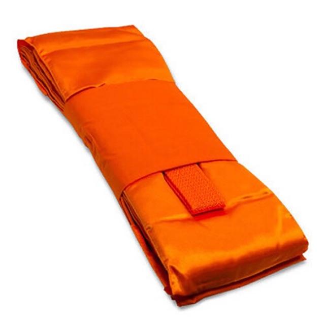 ผ้าไตรครองโทเรอย่างดี ไตรเต็ม 7 ชิ้น ขนาด 1.90 เมตร สีทอง (ส้มทอง), สีพระราชทาน ในราคาขายส่ง โดยตรงจากโรงงาน