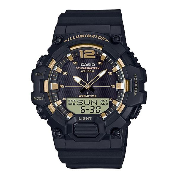 [นาฬิกา]CASIO Standard รุ่น HDC-700-9AVDF สีดำ ทอง สินค้าใหม่ ของเเท้ รับประกันศูนย์  CMG