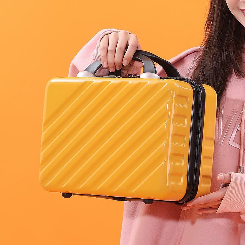 กระเป๋าเก็บกระเป๋าเดินทางกระเป๋าเดินทางขนาดเล็กหญิงน่ารักเครื่องสำอางค์ 14 นิ้วขนาดเล็กและเบา 16 นิ้วกระเป๋าเดินทางมินิ