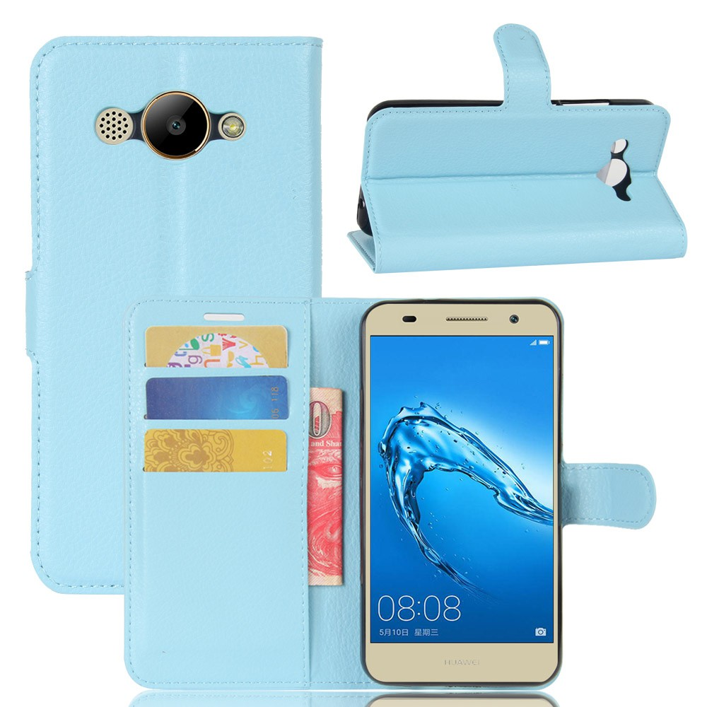 Huawei Y3 2017 CRO-U00 CRO-L02 CRO-L22 Case Wallet Magnetic PU Leather Case Stand Soft TPU Cover With Card Holder