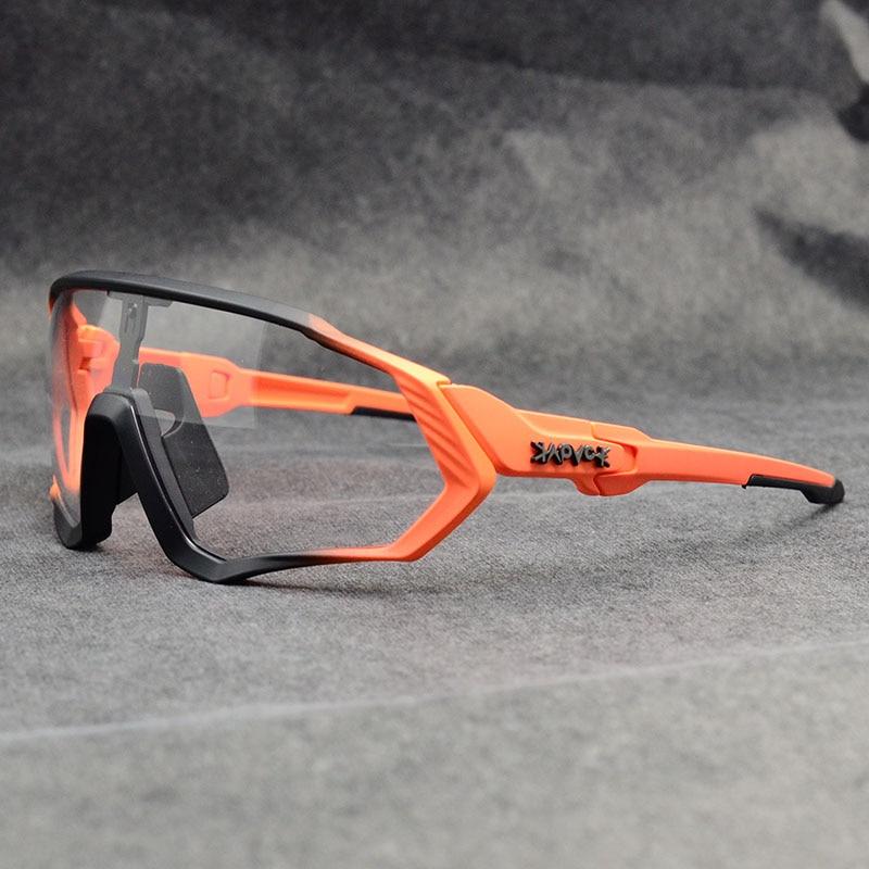 Kapvoe Photochromic Sports cycling Glasses for Men Women MTB Mountain Road Bicycle Eyewear Cycling Sunglasses Oculos Cic