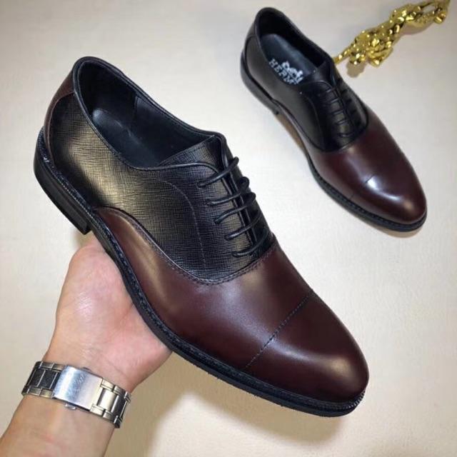 รองเท้าคัชชูBRANDNAME เกรดORI 1:1 เทียบแท้99% Full set เอกสารครบ งานหนังแท้❗️ถ่ายจากงานจริง👍🏼💕.