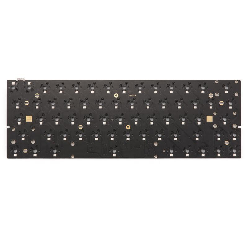 KBDfans customized accessories Dz60 rgb pcb hot-swap keyboard PCB 63配列pcb##