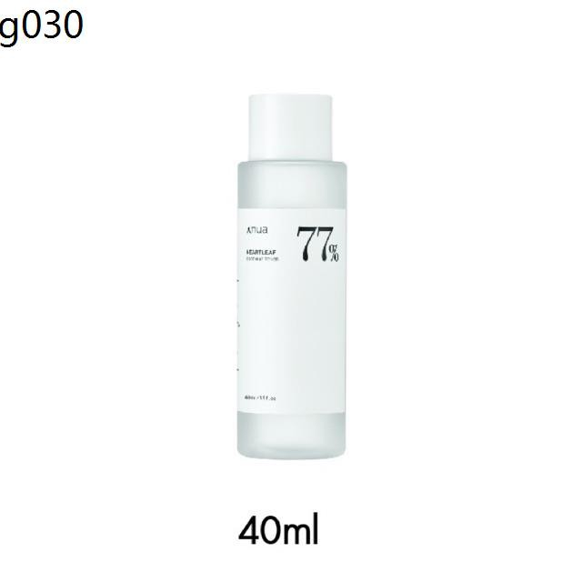 ANUA : HEARTLEAF 77% SOOTHING TONER 40 ml