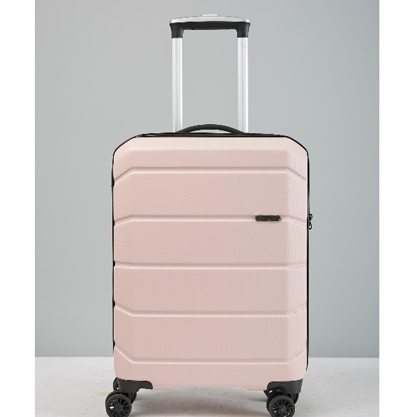 WETZLARS กระเป๋าเดินทาง ABS ขนาด 24 CTH0029-2 สีชมพู