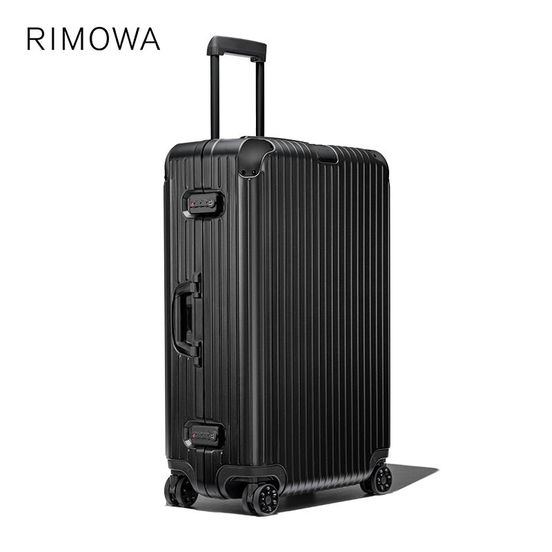ゖ✌Rimowa/RIMERWA hybrid30นิ้วรถเข็นกระเป๋าเดินทางกระเป๋าเดินทางตรวจสอบร้านเรือธงอย่างเป็นทางการ