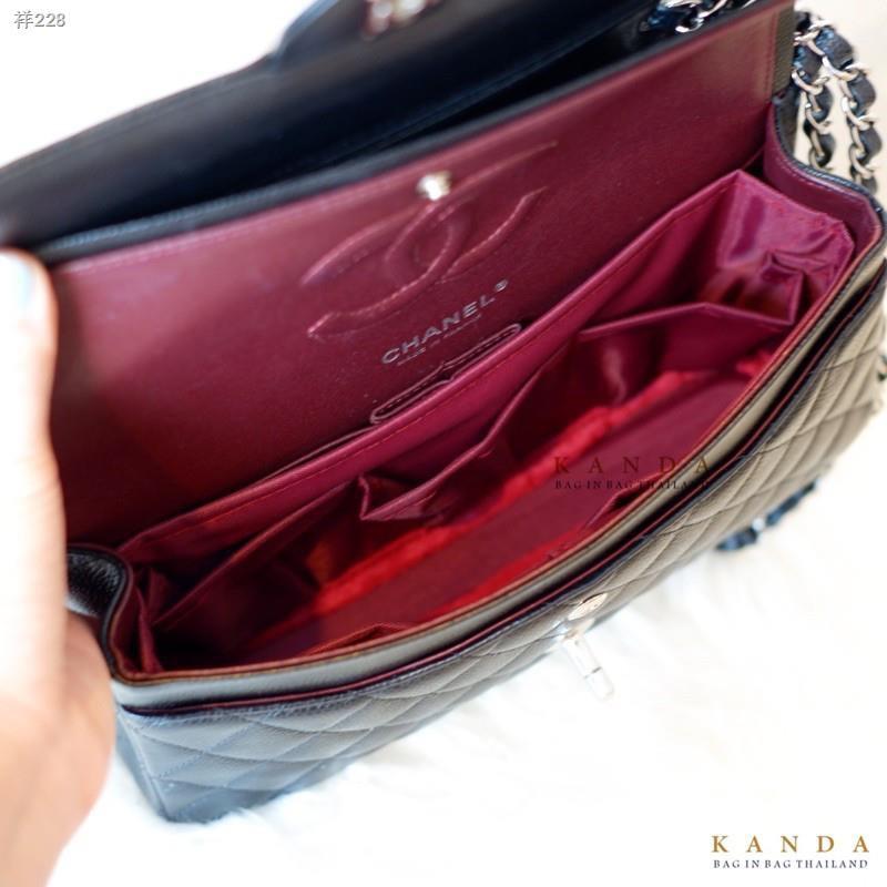 ﹍ที่จัดระเบียบกระเป๋า Chanel Boy /Classic ทุก Size 8 9 10 12 Bag in - organizer ที่จัดทรง ที่จัดกระเป๋า ชาแนล บอย