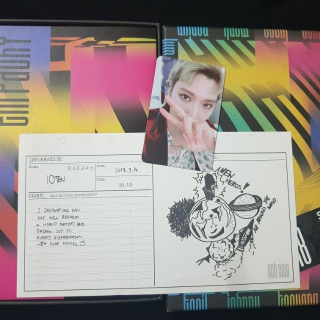 🌹 พร้อมส่ง 🌹 อัลบั้ม NCT empathy ver Dream All Ten เตนล์ ↘ประหยัด 75%