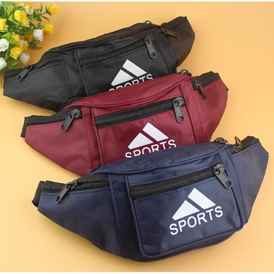 (com-7099)กระเป๋าสะพายข้าง กระเป๋าคาดอก ?sports.