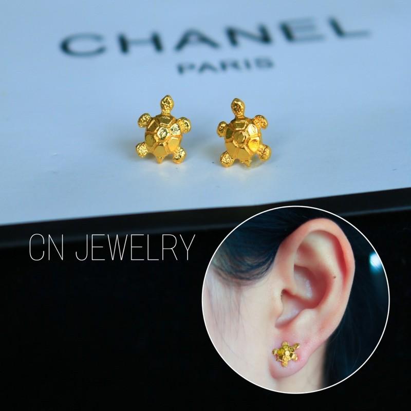 ต่างหู ตุ้มหู ต่างหูแบบติดหู ต่างหูทอง ต่างหูแฟชั่น ตุ้มหูแฟชั่น ตุ้มหูทองต่างหูเกาหลี ต่างหูแบรนด์ เครื่องประดับ เพชรcz