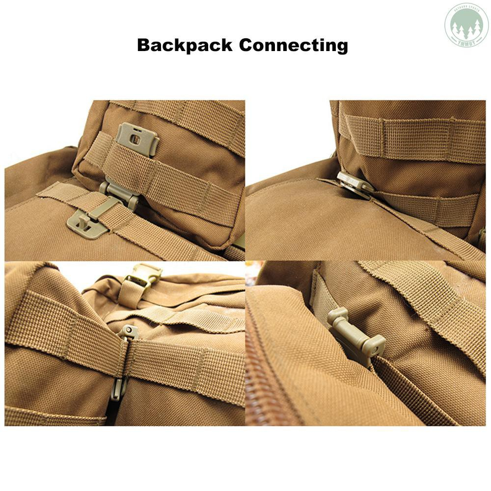 Military Outdoor Backpack Bag Hanging Webbing Connecting Buckle Clip Accessory