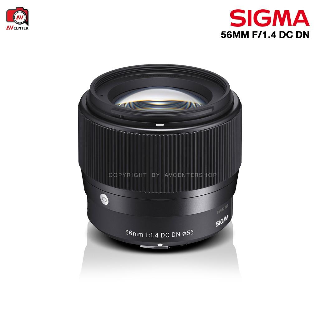 ผ่อน 0% - Sigma Lens 56 mm. F1.4 DC DN [รับประกัน 1 ปี By AVcentershop] fsDe