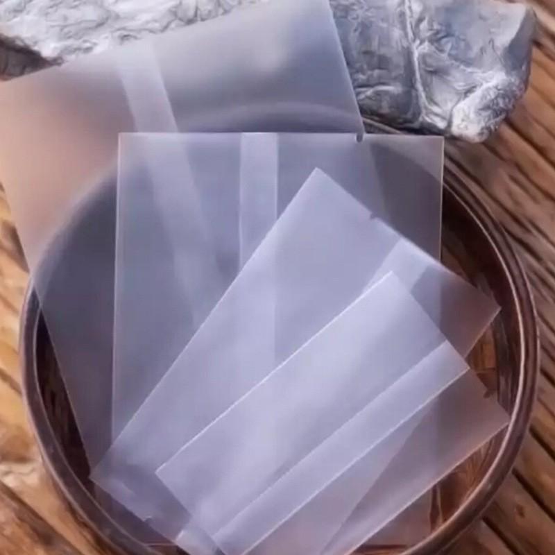 ถุงซีล ถุงคุกกี้ มีทั้งแบบใสและขุ่น แพค 100ใบ ถุงขนม ถุงเบเกอรี่ ถุงสบู่