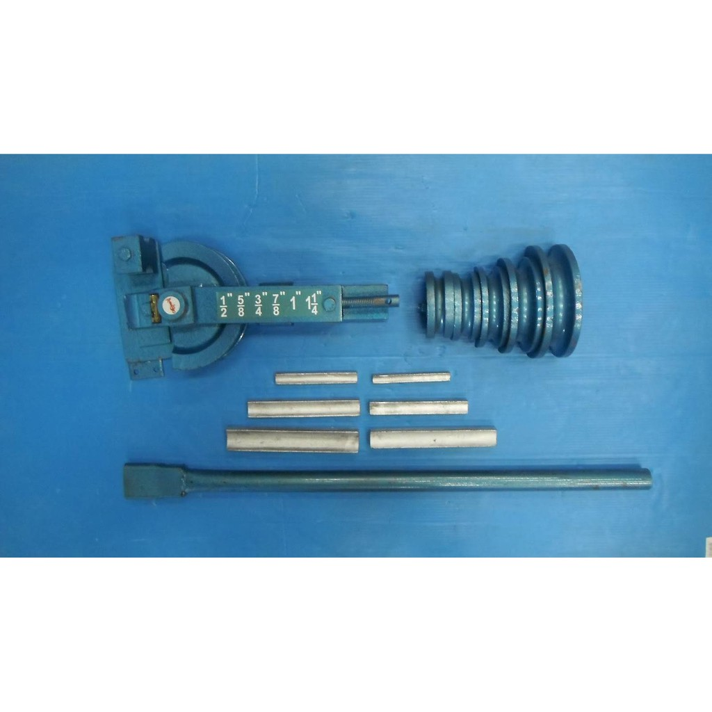 Okuraชุดดัดท่อแป๊บ มือโยก ดัดแป๊ป ดัดท่อประปา เครื่องดัดเหล็กมือโยก okura ใช้ดัดท่อแป๊บ ขนาด 4หุน - 1นิ้ว2หุน